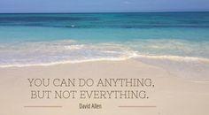 Productiviteit Mythe #1: Ik kan alles (blog)