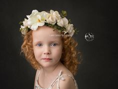 my beautiful girl i love her red hair and curls, she's just the perfect little model. This one is from her most recent photography session. i love fine art childrens photoshoots