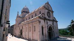 Katedra św Jakova w Šibeniku Więcej informacji o Chorwacji pod adresem http://www.chorwacja24.info/zdjecie/katedra-sw-jakova-w-sibeniku
