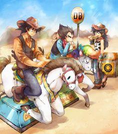 Saiyan Cowboys