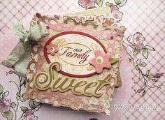 romantyczny albumik rodzinny  http://www.hurt.scrap.com.pl/baza-do-albumu-kwadrat-parawanik-10x10cm.html