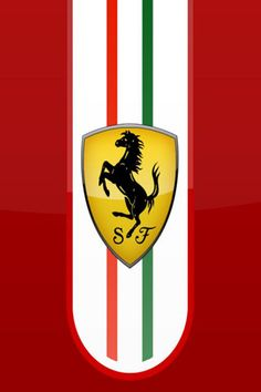 Ferrari Logo 3 iPhone Wallpapers