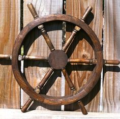 Pirate Ship Wheel by rizOHcollection, $55.00