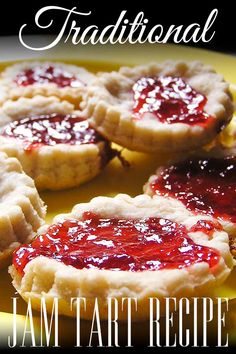 Step-by-step recipe for making some delicious Jam Tarts to go with the classic nursery rhyme Queen of Hearts. Perfect for cooking with kids as young as toddlers. #cookingwithkids #kidsinthekitchen #recipe #jamtarts