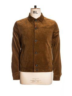 OSJ243 Buffalo Jacket Cord Ginger