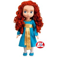 """Toddler Merida Doll - 16"""" H"""
