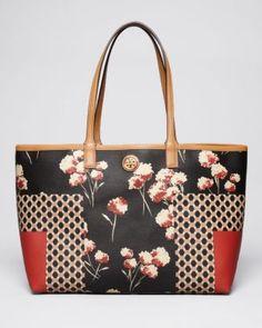 Tory Burch Tote - Kerrington Halland T Field Flowers Shopper  Bloomingdale's