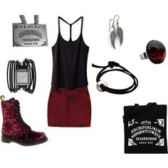 """""""In the Mood for a Dark Love"""" by c-couzens on Polyvore"""