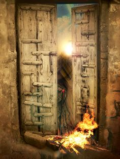 Them Burning down the house of Prophet Muhammad's daughter