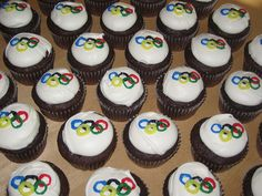 olympic themed party | Olympic Themed Birthday Cupcakes | Flickr - Photo Sharing!