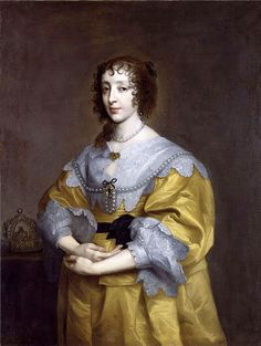 Queen Henrietta Maria of England by Sir Anthony van Dyck, 1632-35