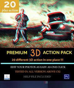Premium 3D #action #pack #photoshop (low price)