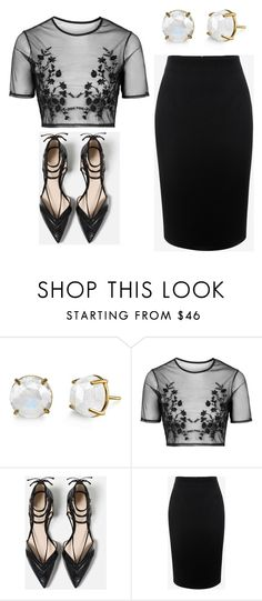 """Outfit Idea by Polyvore Remix"" by polyvore-remix ❤ liked on Polyvore featuring Topshop, Zara and Alexander McQueen"