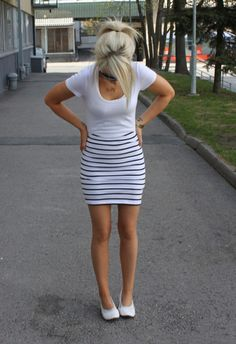 To wear a tight skirt whenever i want to