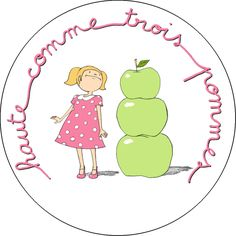 haut comme trois pommes Expression Imagée, French Grammar, French Expressions, French Class, French Quotes, Teaching French, Idioms, Learn French, French Language