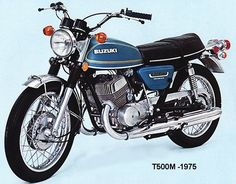 Sunday Salon: Suzuki – The Best Bike (Almost) Nobody Remembers Suzuki Bikes, Moto Suzuki, Suzuki Motorcycle, Motorcycle Style, Motorcycle Design, Honda Motorcycles, Motorcycle Engine, Classic Motors, Classic Bikes