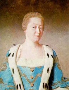 1754 Princess Augusta by Jean-Etienne Liotard (Royal Collection) | Grand Ladies | gogm