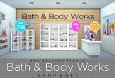 Bath & Body Works Shop in The Sims 4
