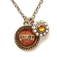 Kelly Rae Roberts Necklace Charm-Create