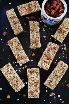 No-Bake Biscoff Granola Bars | Snacks | Pinterest | Granola Bars ...