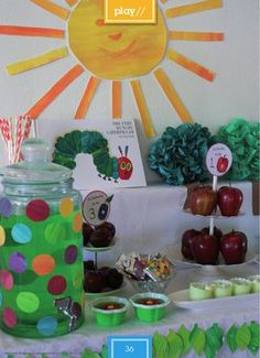 The Very Hungry Caterpillar Birthday Party from Mathilda's Magazine Issue 4 // Autumn 2012 (free online at Issuu)