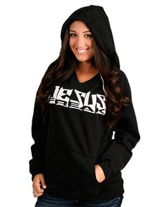 The Jesus Freak Pullover Hoodie sweatshirts from NOTW.com|I already have it as a T-shirt, but I'd love to have it as a hoodie too!