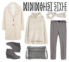 """""""Minimalist Style - Contest"""" by by-jwp ❤ liked on Polyvore featuring Zara, H&M, MANGO, maurices and Luciana Verde"""