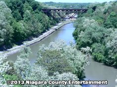 This Railroad bridge was built in 1902 by King Bridge Company of Cleveland, Ohio http://niagaracountyentertainment.com niceinfo@niagaracountyentertainment.com