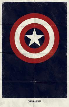 20 Minimalist Marvel Movie Posters