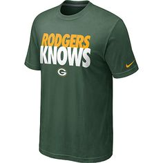 Men s Nike Green Bay Packers Aaron Rodgers