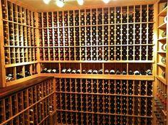 built in wine rack - Google Search