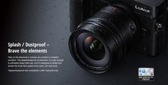 Panasonic LEICA DG SUMMILUX 12mm/F1.4 ASPH Lens: Rugged, Splash/Dustproof with Compatible LUMIX Cameras: Fast, Wide-Angle Lens for Outdoor Photographers & Low-Lit Indoor Shooting  http://www.photoxels.com/panasonic-leica-dg-summilux-12mmf1point4-asph/