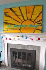 pinterest wood sun painting - Google Search