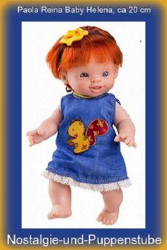 Dolls Careful Puppe Soy TÚ Emily Von Paola Doll Reina Vinyl GrÖße 42 Cm