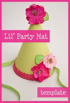Lil' Party Hat Template