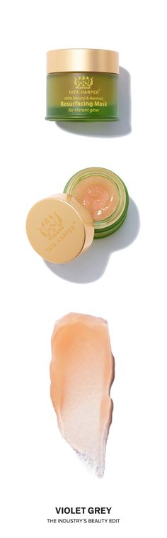 Tata Harper's Resurfacing Mask is an award-winning beta-hydroxy treatment works like a traditional peel to provide an instant solution for dull skin – without causing downtime or irritation. The formula delivers an instant glow, minimizing the appearance of pores and improving texture. Created to deeply purify and help decongest surface debris and dead skin, it leaves skin looking refreshed and revitalized. | #VioletGrey, the Industry's Beauty Edit