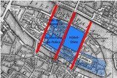 Transformations de Paris sous le Second Empire — Wikipédia Baron Haussmann, Covered Walkway, Blue Building, Louvre, Paris Images, Old Paris, Second Empire, Architectural Antiques, Slums