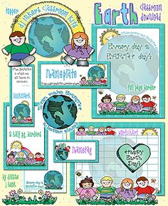 Coordinate your classroom with our adorable 'Earth Classroom Download!'  Buy now & you'll get the coordinating 'Earth Matters' bulletin board for just $1!!! Add a smile to any recycling area, decorate the classroom for Earth Day... or just to show the world you care!  Deal ends April 15, 2015