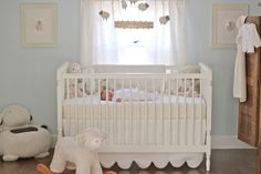 Emma's Nursery My vision for our daughter's nursery was a soft, cuddly and cozy room filled with an eclectic mix of items - old and new, .