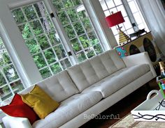 Sun Room Retro Couch More Sunrooms Sunroom Phase Sun Rooms Green Rooms