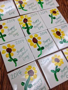 The Bender Bunch: Teacher Appreciation Surprise & A Recap # mothers day gifts from kids preschool Mothers Day Crafts Preschool, Grandparents Day Crafts, Daycare Crafts, Fathers Day Crafts, Grandparent Gifts, Crafts Toddlers, Mothers Day Cards, Happy Mothers Day, Mother Day Gifts
