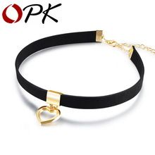 OPK Gothic Choker Necklace For Women Hollow Heart Pendant With Smooth Flannel lace Retro Christmas Present For Girl Gold Choker Necklace, Black Choker, Jewelry Necklaces, Choker Collier, Cartier Necklace, Diamond Necklaces, Statement Necklaces, Dainty Jewelry, Heart Jewelry