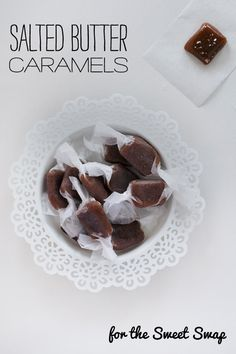 Salted Butter Caramels – The Sweet Swap – Love Swah – A Sydney food, travel and design blog
