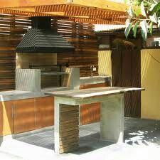 1000 images about quinchos on pinterest outdoor grill for Asadores de concreto para jardin