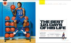ncaa college magazine spread - Google Search