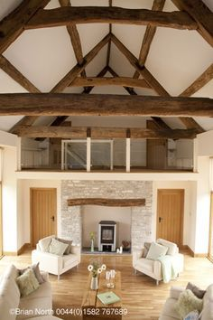 Barns Conversion To Homes | BRIAN NORTH Photography: REAL HOMES MAGAZINE Barn…