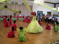 Amanda's Sweet 15 Tinkerbell Court Dance