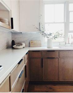 Home Decor Kitchen .Home Decor Kitchen Home Decor Kitchen, Kitchen Interior, New Kitchen, Home Kitchens, Kitchen Dining, Danish Kitchen, Walnut Kitchen, Minimal Kitchen, Natural Kitchen