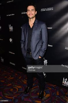 """Actor Cheyenne Jackson attends the """"Day Out of Days"""" screening during the 2015 Los Angeles Film Festival at Regal Cinemas L. Live on June 2015 in Los Angeles, California. Los Angeles Film Festival, Cheyenne Jackson, Days Out, New Day, Films, Cinema, Handsome, Actors, Age"""