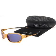 5f35bb99c1 Oakley Juliet Sunglasses Blue Gold
